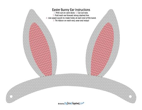 easter bunny hat template clipart bunny ear pencil and in color clipart