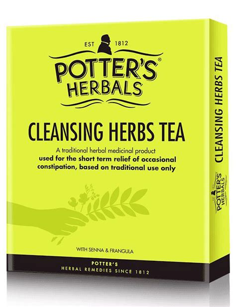 Detox Herb Tea Uk by Potters Cleansing Herbs 50g
