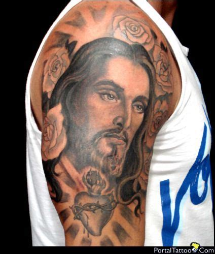 tattoo jesus cristo no antebraço 33 exemplos de tatuagens masculinas religiosas labcriativo