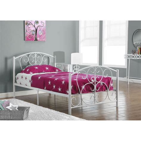 twin white bed frame 1991i2390w