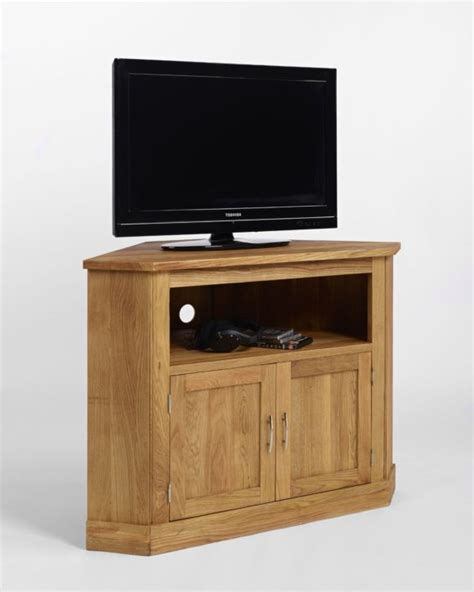 Corner Tv Cabinet With Doors by Furniture Modern Corner Tv Stand In Sophisticated Designs