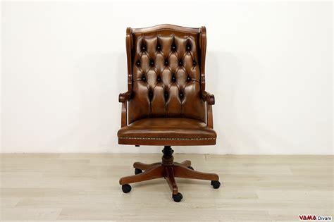 poltrone in pelle vintage poltrona da ufficio classica in vera pelle di design vintage