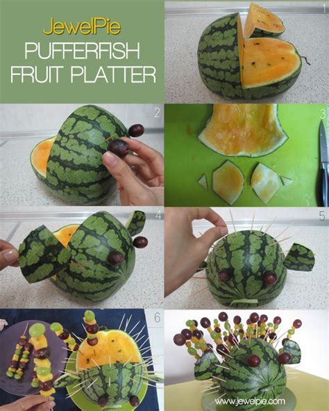 Home Decor Beach Style pufferfish fruit platter 5 things 15 minutes jewelpie