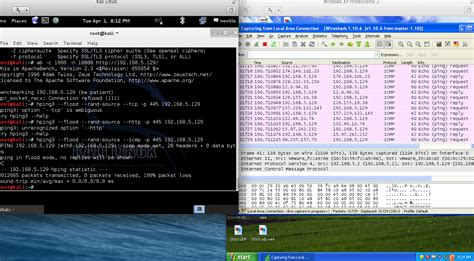 kali linux ddos attack tutorial johny blog ddos attack using hping command in kali linux