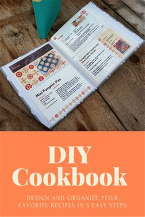 1000 ideas about cookbook template on pinterest make