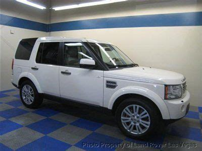 automobile air conditioning service 2010 land rover lr4 auto manual purchase used white 2010 lr4 air suspension with leather loaded 4 wheel drive we finance in