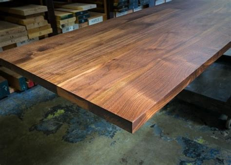 handmade custom walnut table top by house of hardwood