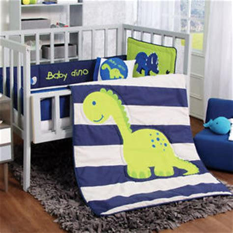 New Blue Green Baby Dino Dinosaur Boy Crib Bedding Nursery Baby Boy Dinosaur Crib Bedding