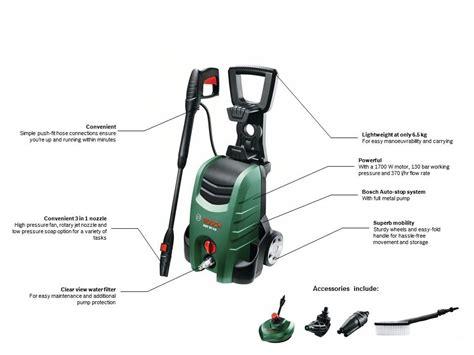 Original Produk Bosch Aqt 37 13 High Pressure Washer Jet Cleaner Read bosch aqt 37 13 plus high pressure washer co uk