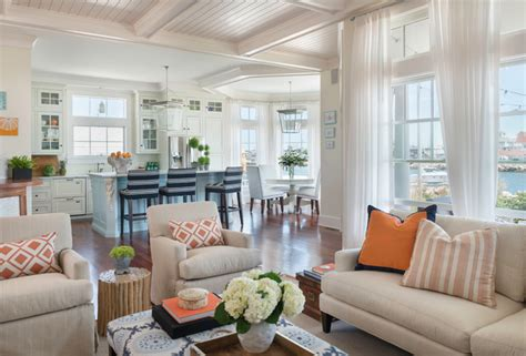 coastal chic coastal chic coastal living room providence by