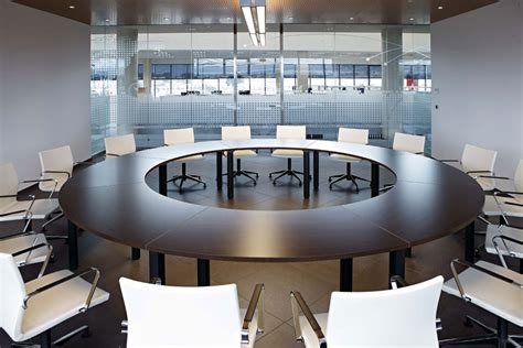 Circle Meeting Table Modular Conference Table