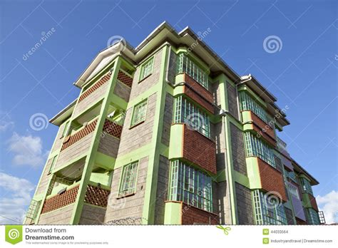 apartment design kenya kenyan apartment building stock photo image 44033564