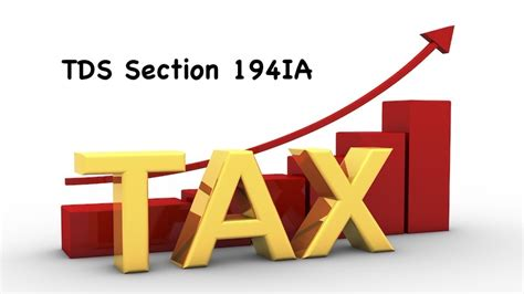 section 194ia tds section 194ia objectives concepts rate of tds