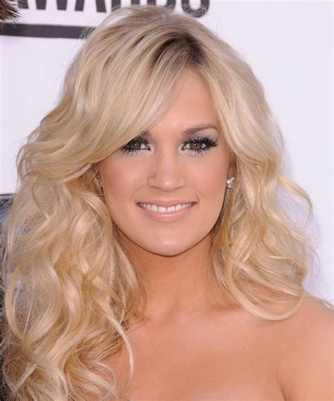 blonde hairstyles down 204 best carrie underwood style images on pinterest