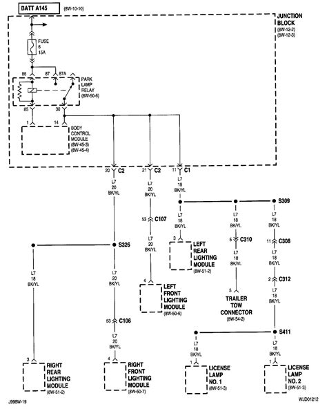 2002 jeep grand light wiring wiring diagrams