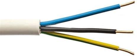 Kabel Nyy 3x1 5mm2 kabel nym j 3x1 5 elektroinstalacijski trdo緇ilni kabel