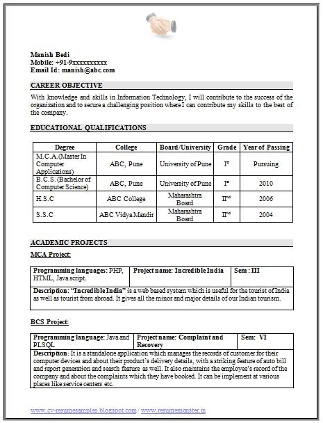 chronological resume format for freshers 100 resume format for freshers sle template exle of beautiful excellent professional