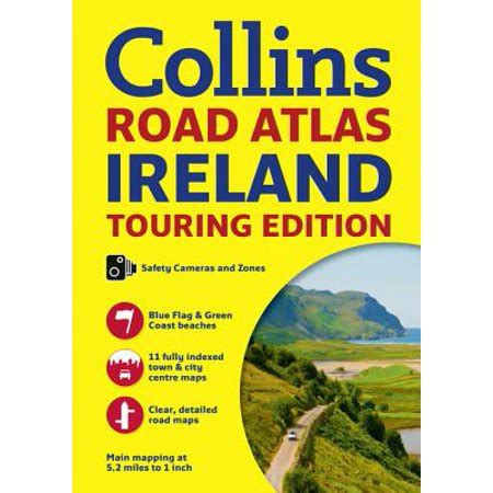 0008183724 collins road atlas ireland touring collins road atlas ireland touring edition walmart