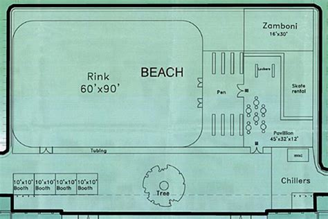 roller skating rink floor plans leed silver mccarren park pool complex opening soon in greenpoint mccarren park pool rink