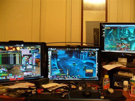 computer setups cool computer setups and gaming setups