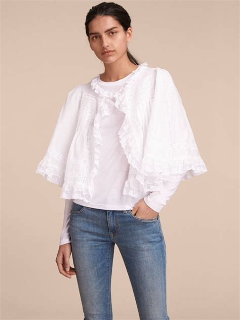 Bj 1295 Sleeve Rib Blouse shirts for burberry