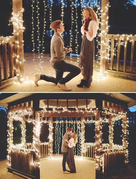 10 Most Romantic Unique Wedding Proposal Ideas That Let