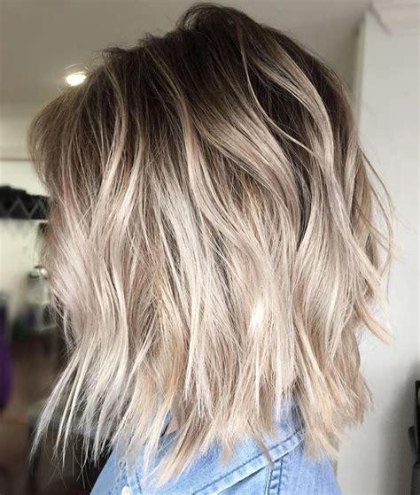 blonde hairstyles balayage 40 beautiful blonde balayage looks ash blonde balayage