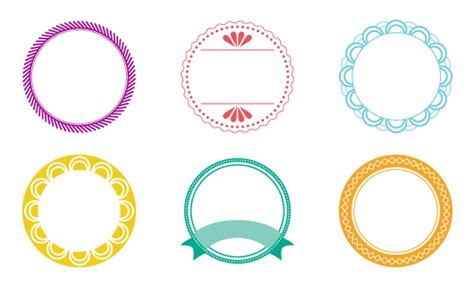 circle label template free printable labels robbins design