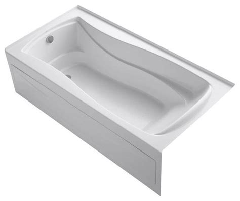 6 ft bathtubs kohler bathtubs mariposa vibracoustic 6 ft left drain
