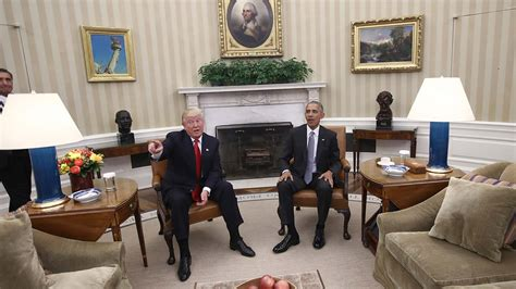 trump in the oval office us election 2016 obama hails excellent conversation