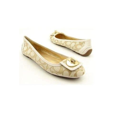 flat shoes coach coach shoes for coach vinnette flats shoes beige