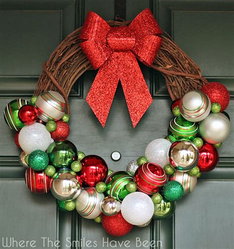 diy door ornaments diy ornament wreath