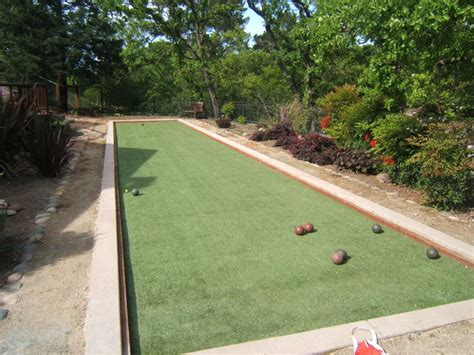 bocce ball courts traditional landscape san francisco by heavenly greens