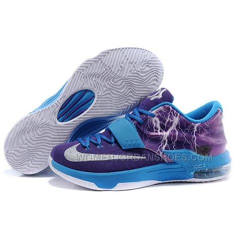 nike kd vii kd 7 new blue white shoes price 93 00