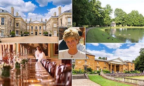 Princess Diana's childhood home Althorp opens to overnight