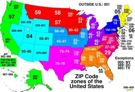 List Of Zip Code Prefixes | list of zip code prefixes simple english wikipedia the