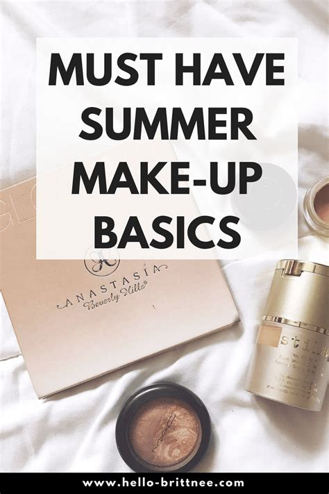 Your Summer Makeup Must Haves For 08 by Must Summer Makeup Basics