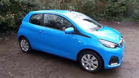blue peugeot 2015 65 peugeot 108 1 0 active 3dr in blue