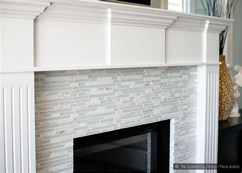 marble fireplace tiles white trim elegant white marble