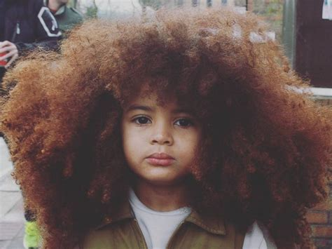 women with alot of hair big haired little boy earns internet fame with colossal