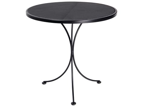 wrought iron bistro table wrought iron bistro table meadowcraft wrought iron 30