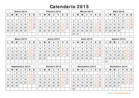 Calendario 2015 Peru Calendario 2015 Calendar Page