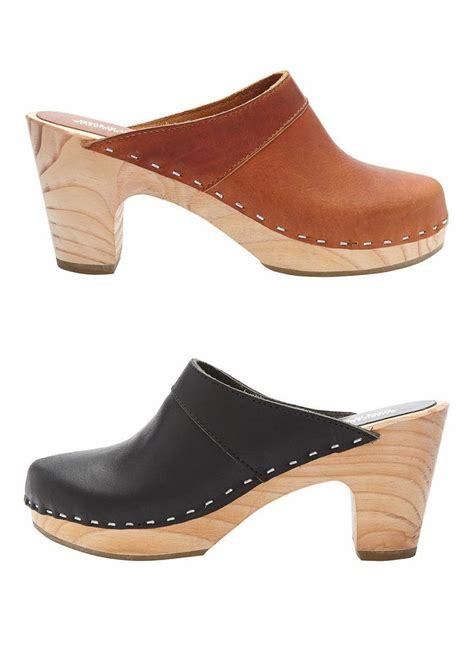 clogs heels for 100 best heeled clog shoes images on heeled