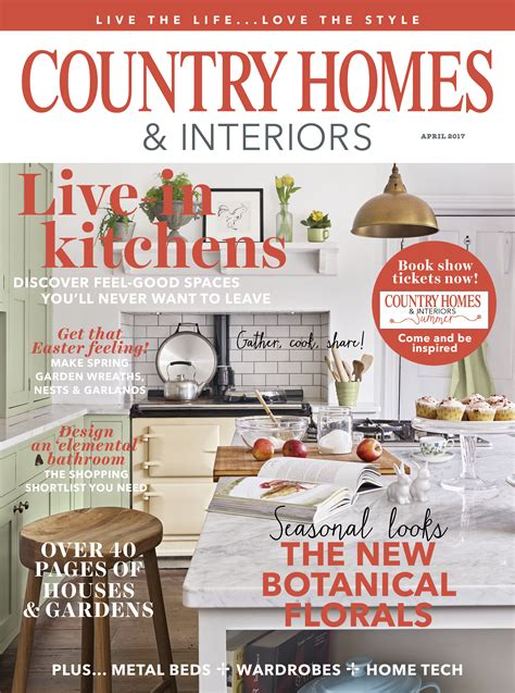country home and interiors magazine country homes interiors magazine