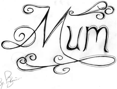 mum writing tattoo designs pin pin tattoos letters graffiti d on