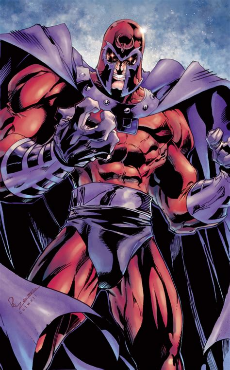 comics forever magneto artwork by joe madureira and