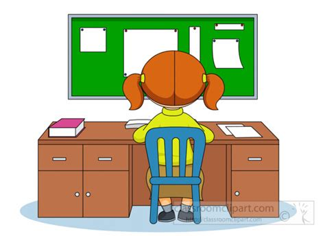 student sitting at desk clipart student sitting at desk clipart clipart kid