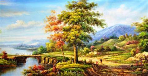 bertanya  cari jawaban tentang lukisan pemandangan galena
