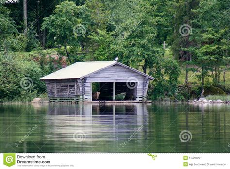 the old boat house old boathouse by the lake stock photo image 11723020