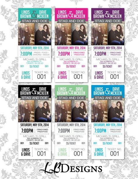 free printable stag tickets 17 best images about stag doe tickets on pinterest